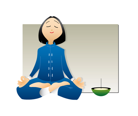Kadzidełka japońskie medytacja
