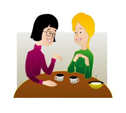 Kadzidełka japońskie spotkanie przyjaciół